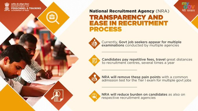 NRA - Transparency and ease in recruitment