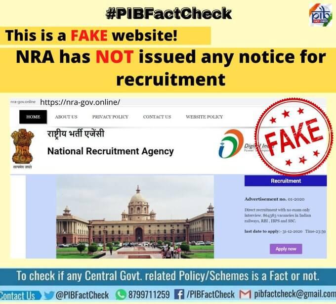 nra fake website caught