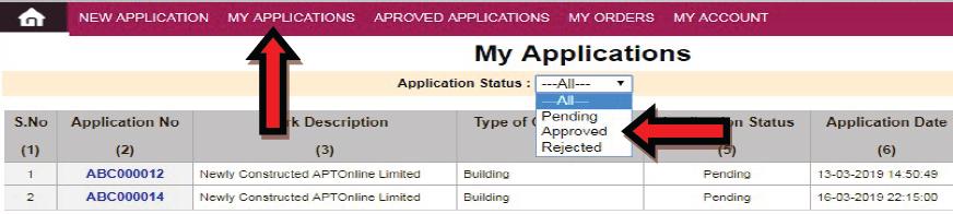 ssmms private company bulk sand order application status
