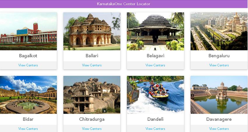 Bangalore one near me center locator page