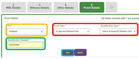 tn marriage registration proof details