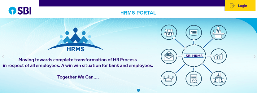 HRMS ONLINE SBI HOME PAGE