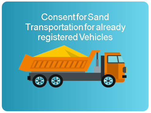 consent for sand transportation department of mines and geology ap