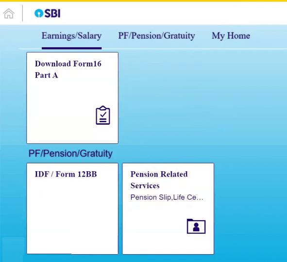 hrms online sbi employee dashboard