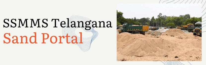 SSMMS Telangana sand booking portal