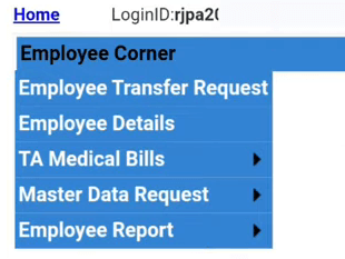 employee corner options Pay Manager