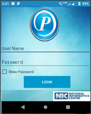 paymanager app login page