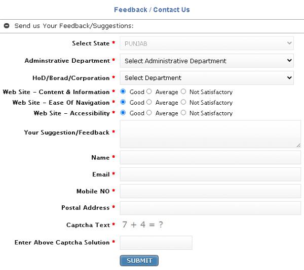 HRMS feedback form