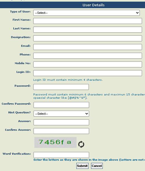 PFMS-DBT Beneficiary checker registration