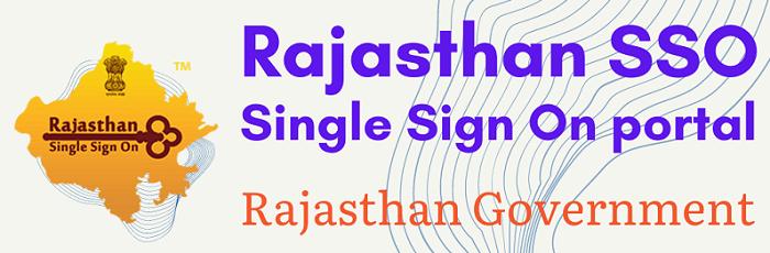 SSO Rajasthan portal