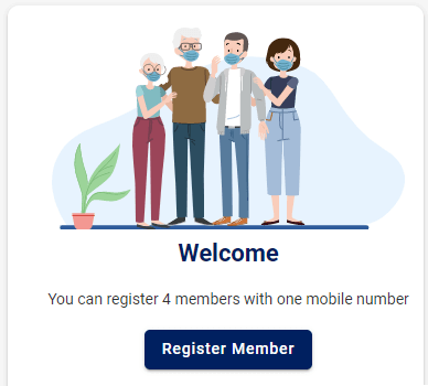 cowin-register-member-page