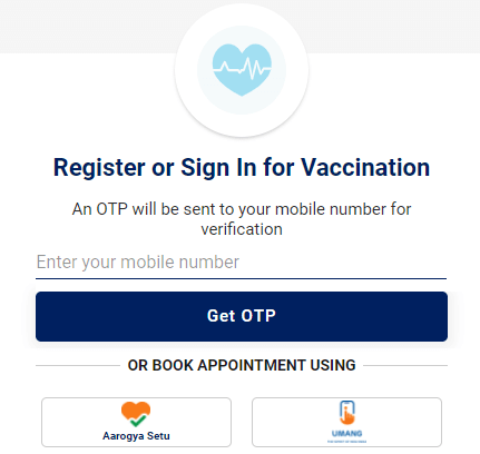 cowin-vaccine-mobile-registration-page