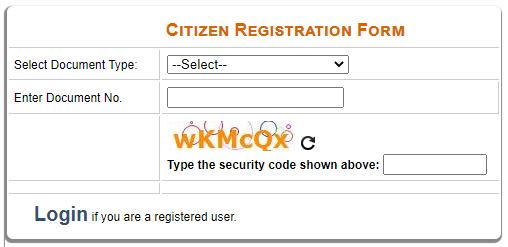 edistrict delhi new user registration form