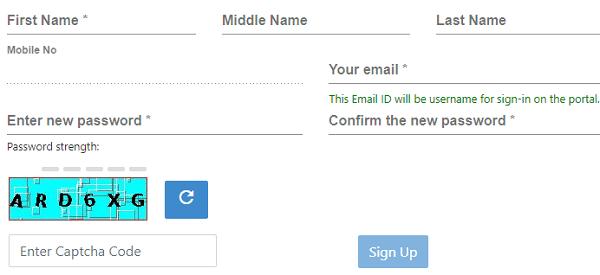 Haryana employment registration form