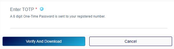 TOTP-verification-page-UIDAI-aadhar-download