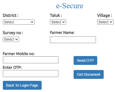 ap esecure fmb print page