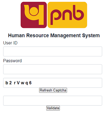 pnb parivar login form