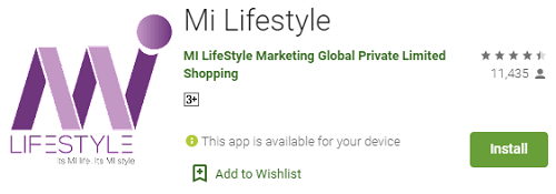 milifestyle app link on play store