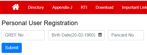 pao gref personal user registration form
