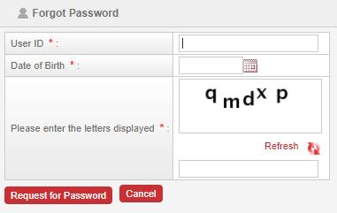 pli agent portal password reset page