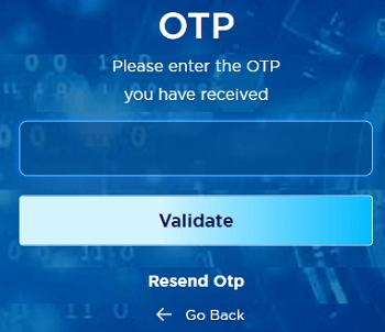 tafcop.dgtelecom.gov.in OTP screen